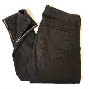 Vince Zip Leg Skinny in Dark Olive(Brown)